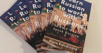 "Videos paperback and eBook ""Learn Russian …"""