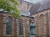 Naarden, the statue of Comenius, 5