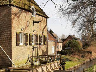 Cannenburghermolen/ Historical water mill, Gelderland