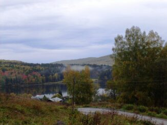 Porogy in September, Chelyabinsk region