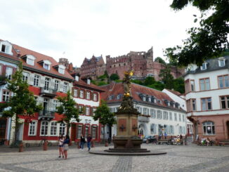 The castle of heidelberg