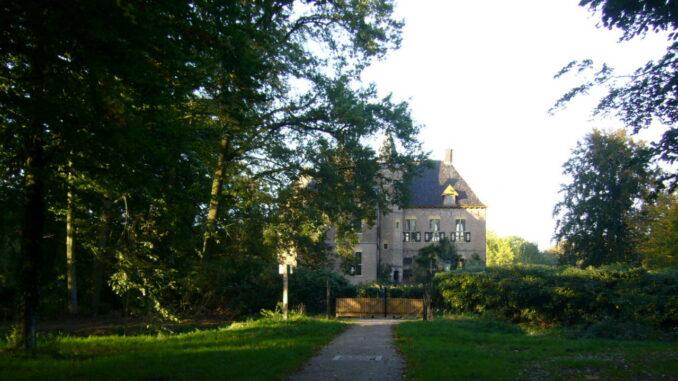 The castle of Voorden,Netherlands
