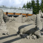 The Veluws Sand Sculptures Festival (Gelderland), 09.2009